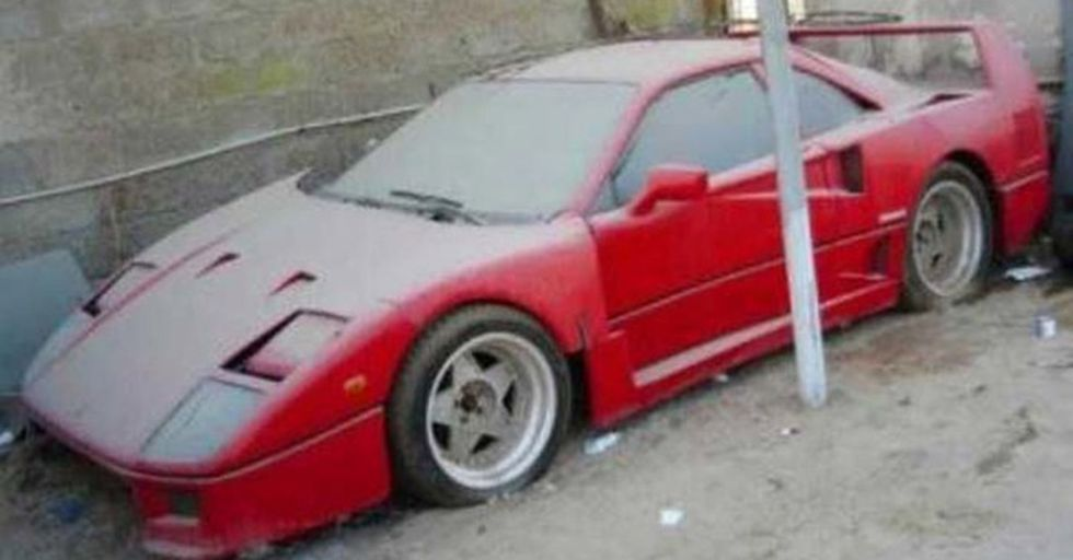 Police In Dubai Have Discovered Over 3,000 Abandoned Luxury Cars For the Most Bizarre Reason