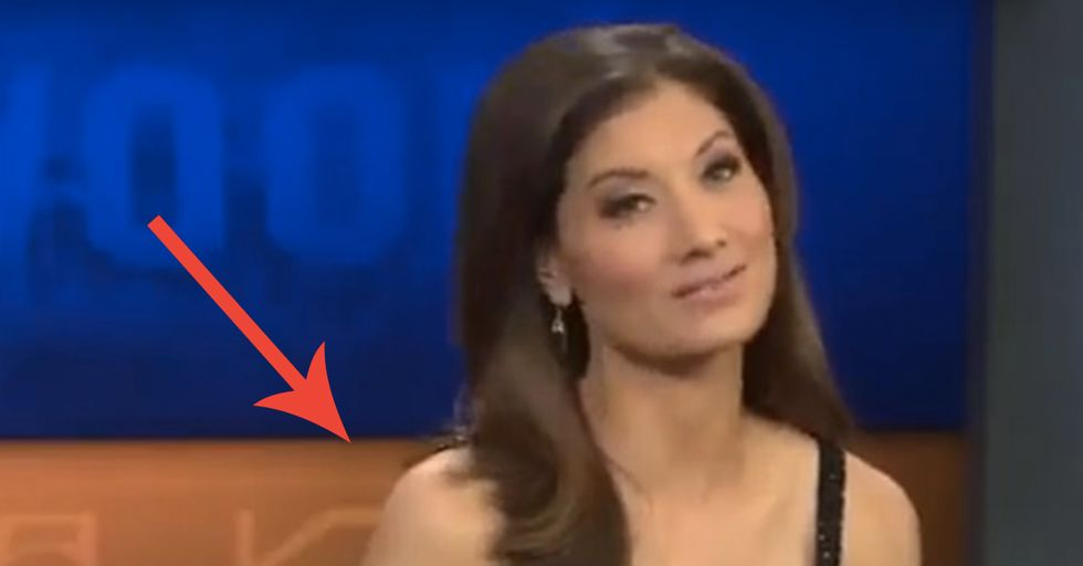 This Meteorologist's Dress Was 'Too Revealing' So They Handed Her a Sweater ON AIR
