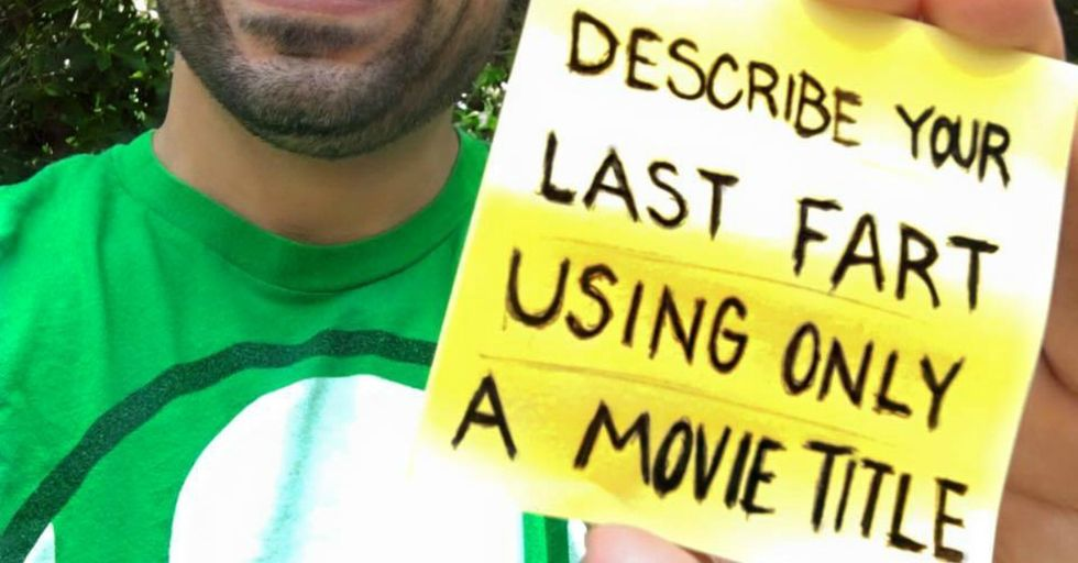 Here's What Happens When the Internet Decides To Use Movie Titles To Describe Their Farts
