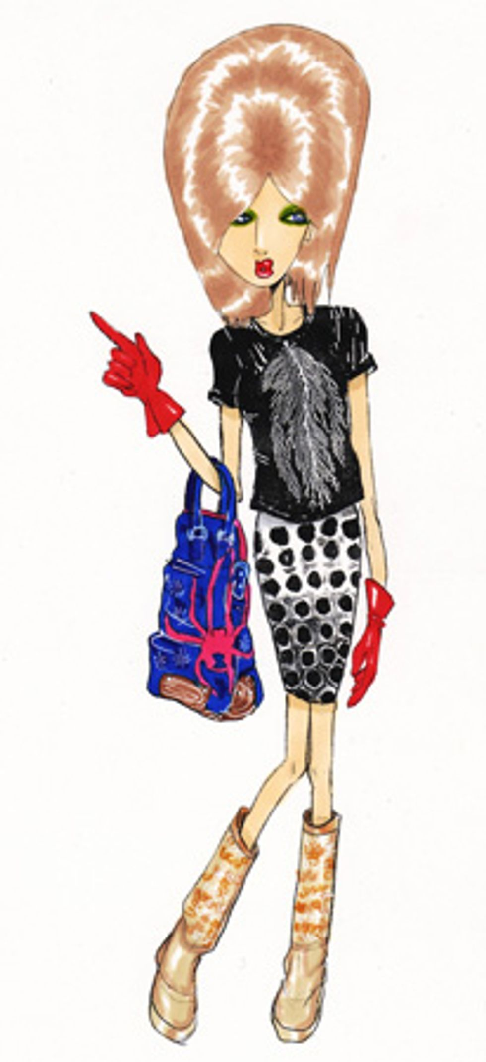 Couture Voyeur: Lulu Goes Shopping