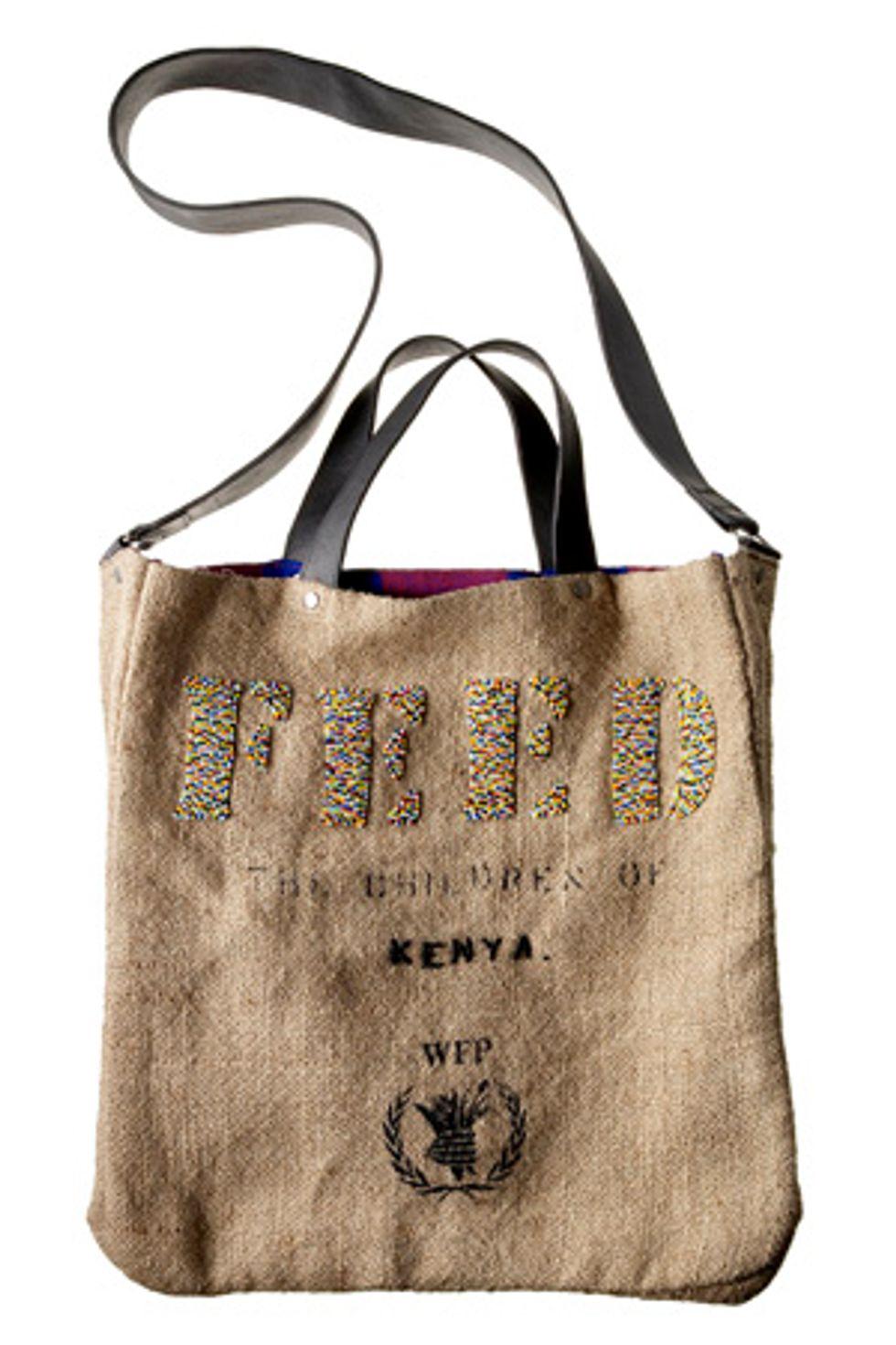 Fashionably Conscious: FEED 2 Kenya Bag