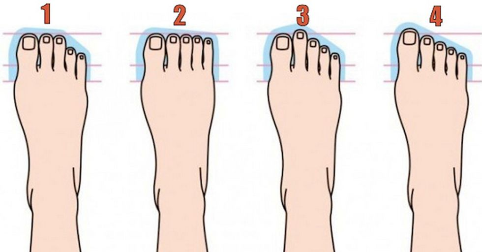 Do Your Feet Look Like Any of These? That Means You Have THIS Type of Personality...