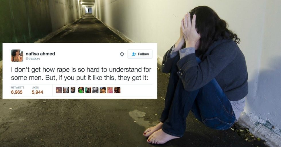 This Woman's Analogy PERFECTLY Explains Consent To Men Who Still Just Don't Get It