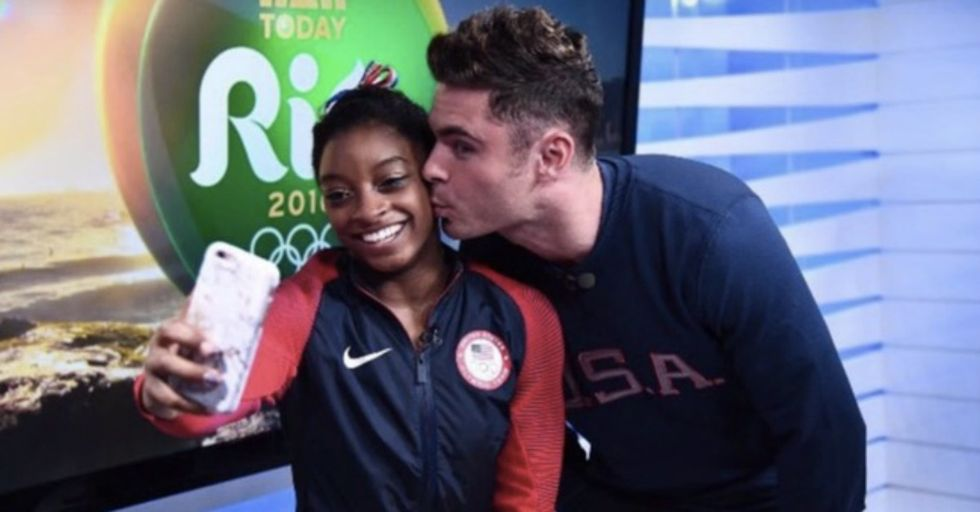 Watching Simone Biles FREAK OUT About Meeting Zac Efron Is Pure Gold