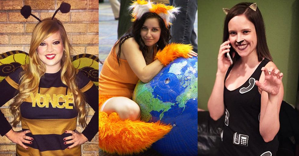 The Absolute Punniest Costumes That Anyone Can DIY