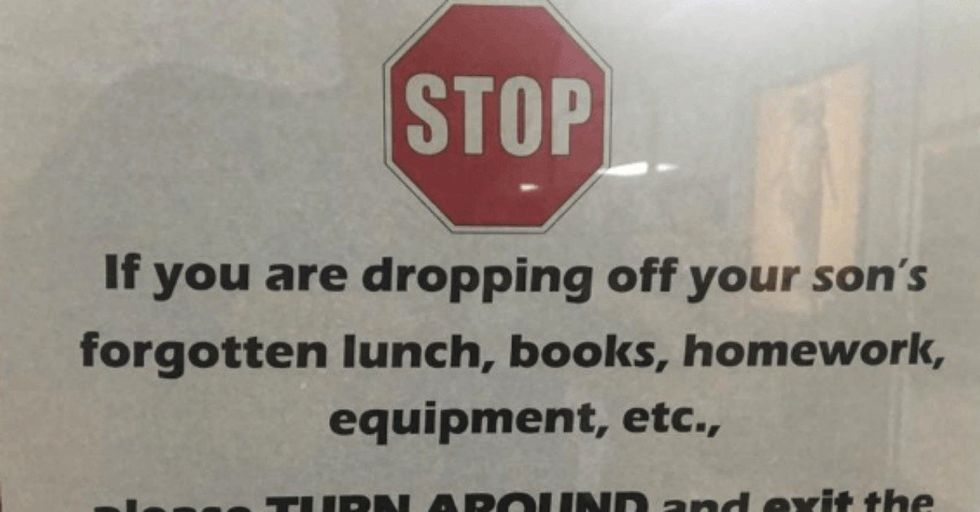 People Are REALLY Ticked Off By This School's Passive-Aggressive Sign