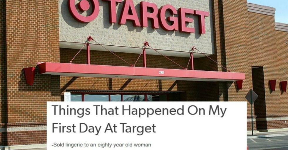 This Guy Documented His First Week Working at Target and It's Surprisingly Hilarious