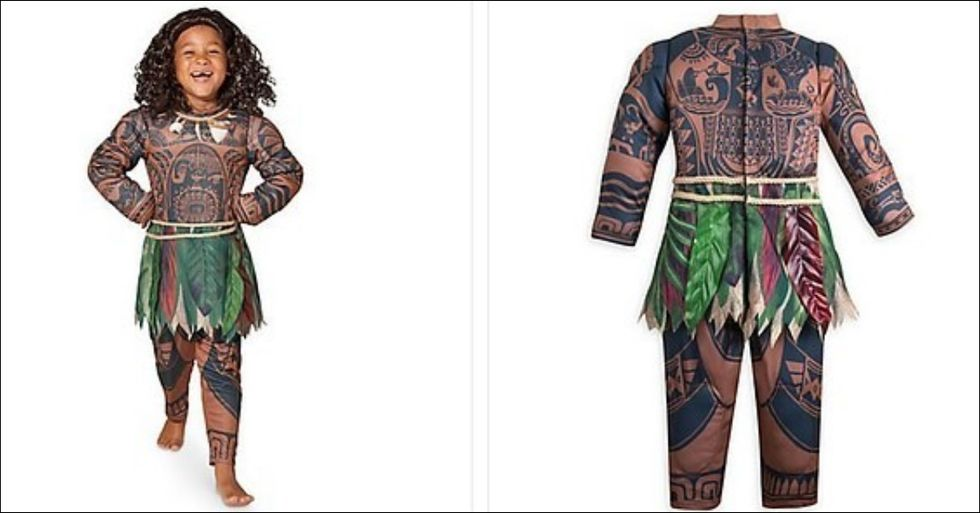 People Are NOT Happy About Disney's 'Moana' Costume