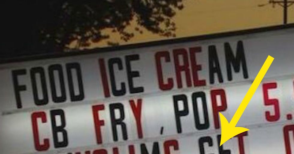 Restaurant Owner Says Racist Sign is Actually Helping His Business