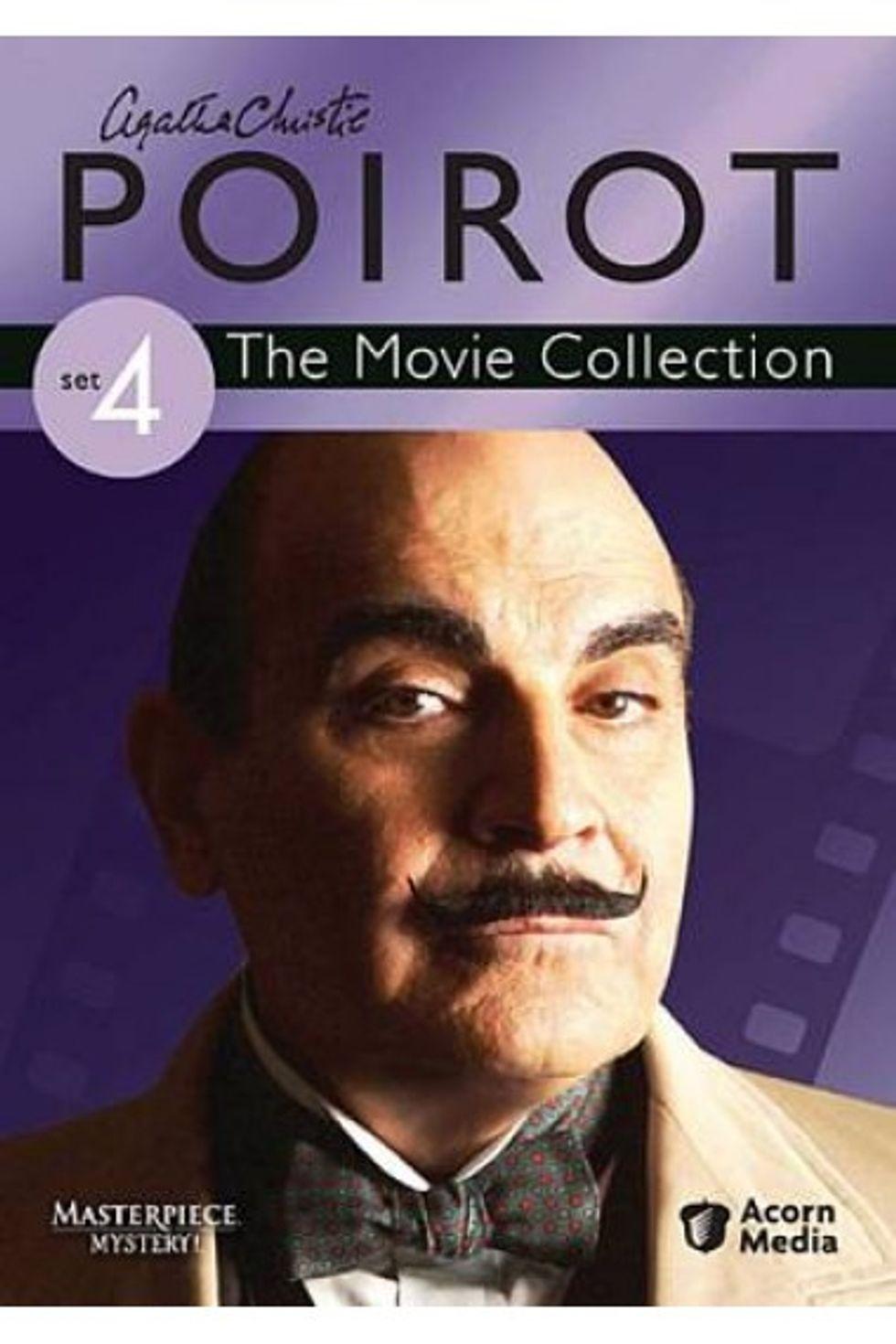 Poirot: The Movie Collection Set 4 On DVD!