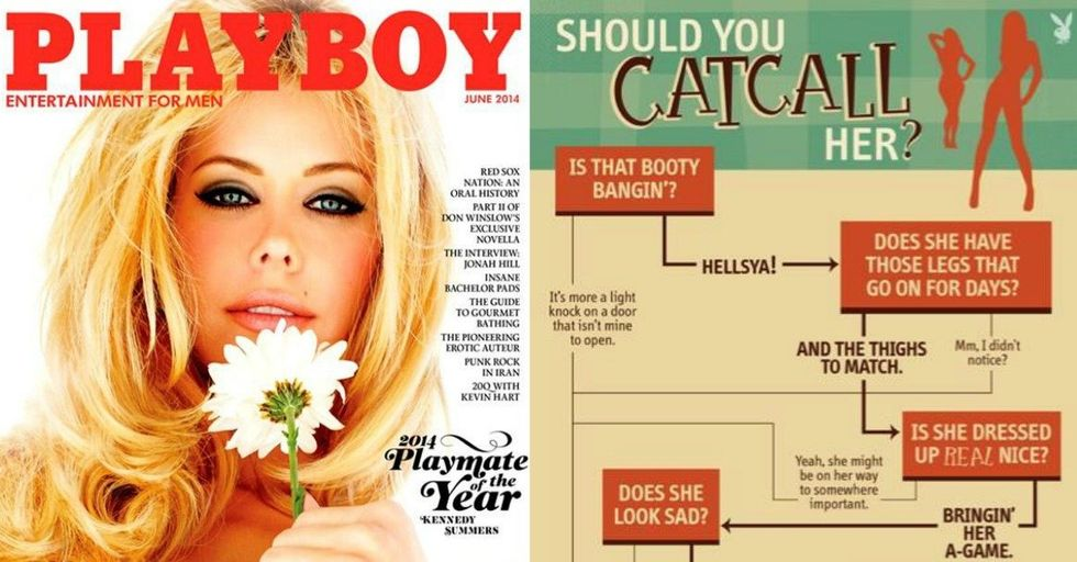 Playboy's 'Should You Catcall Her?' Chart Is Actually Really Spot-On