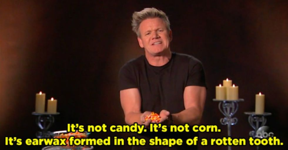Gordon Ramsay Reveals the Five Worst Halloween Treats That You Can Hand Out