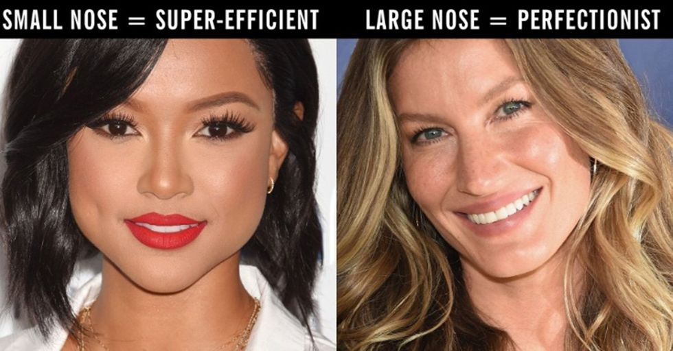 Here's What the Shape of Your Nose Says About Your Personality