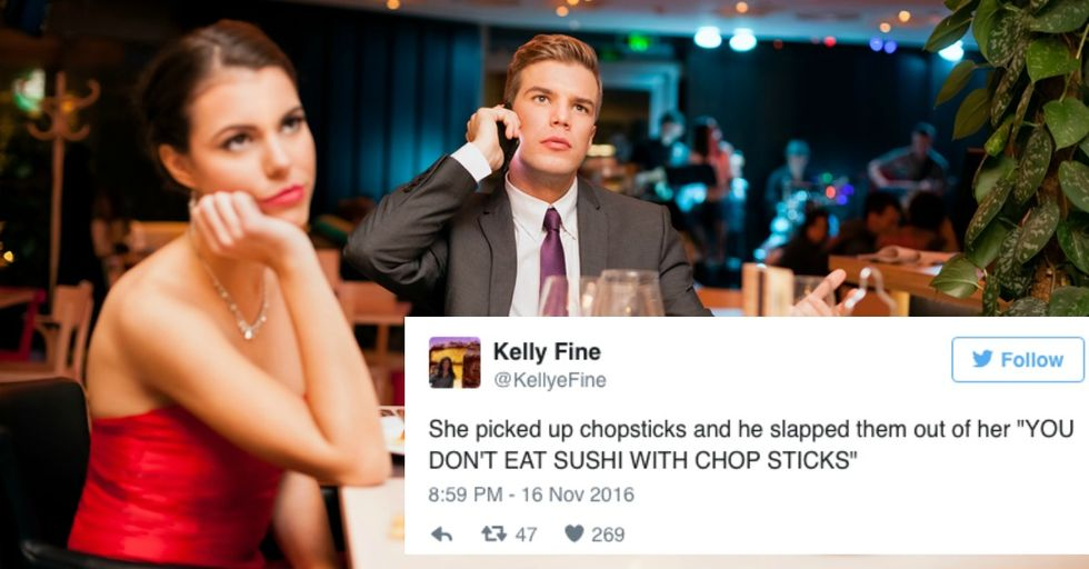 This Woman Hilariously Live-Tweeted a Date From Hell