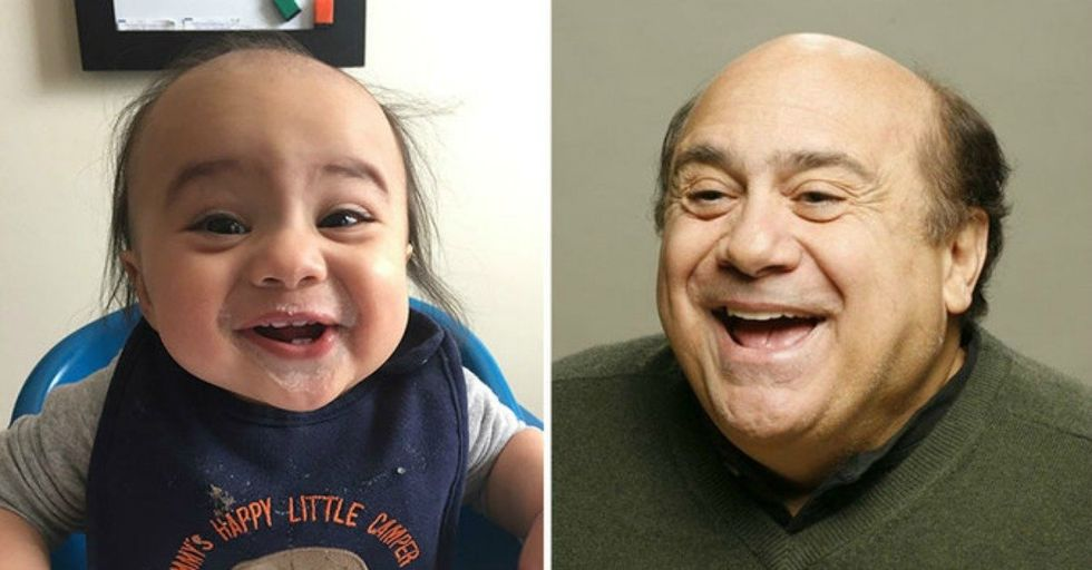 Hilarious Pictures of Babies Who Look EXACTLY Like Celebrities