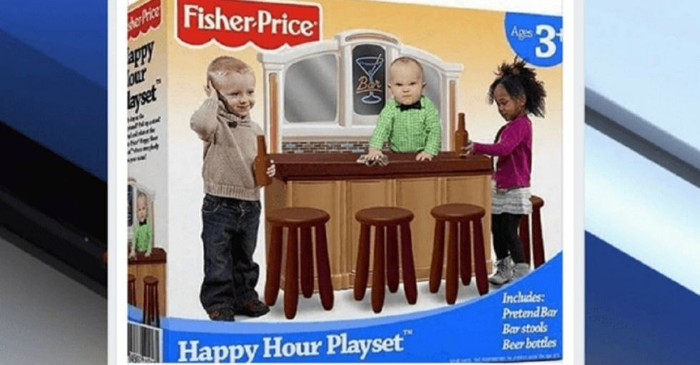 People Are REALLY Angry About This 'Happy Hour' Playset