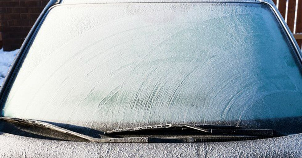 This Weatherman Reveals the Secret To Defrosting Your Windshield In SECONDS