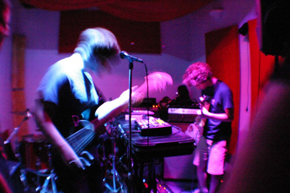 Vegan Twin Brothers Host Concert Party at The Yolk