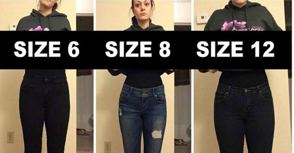This Woman's Viral Post Proves an Important Point About Clothing Sizes