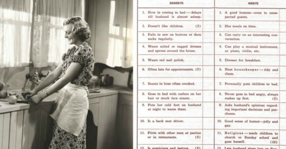 How Would Your Marriage Score On This Test from the 1930s?