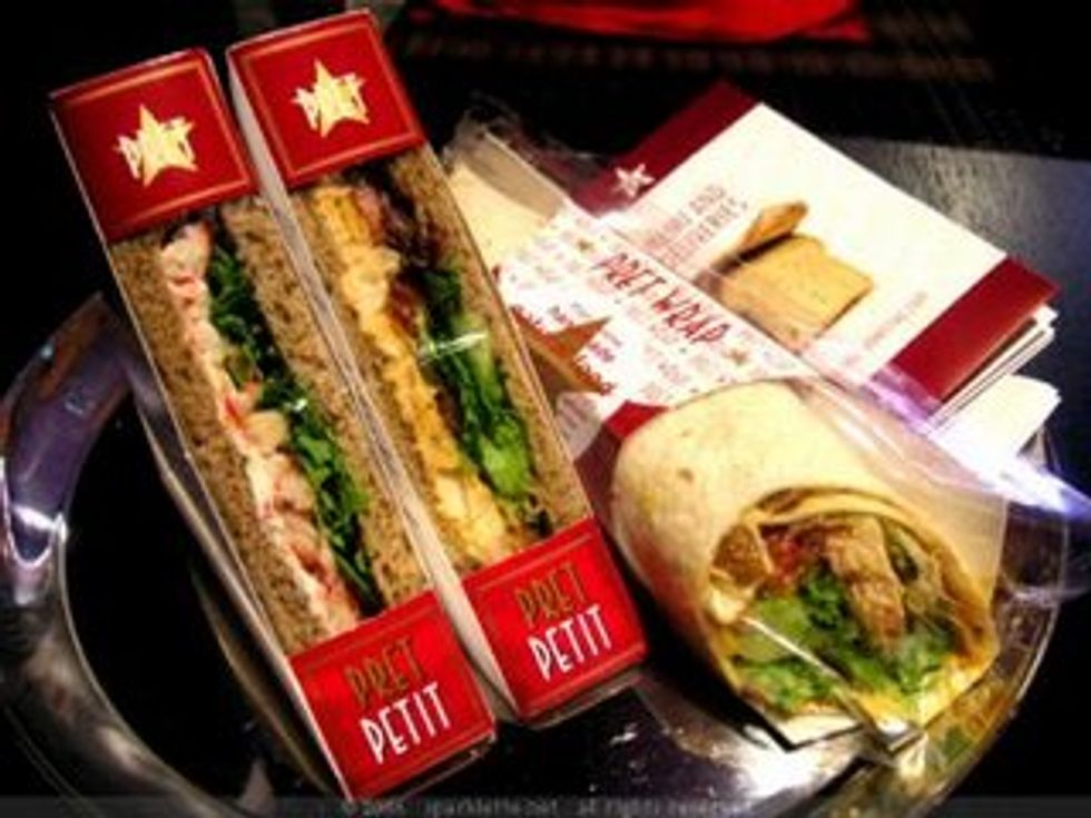 The PAPER Crew is always Pret for Pret a Manger! (This Is Not an Ad -- We Swear!)