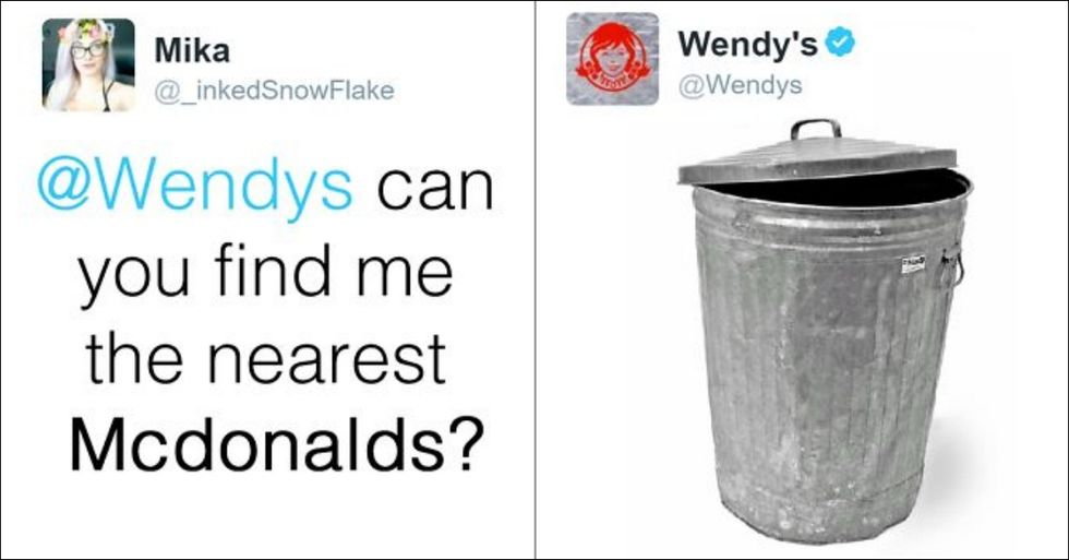 Wendy's Is Hilariously Trolling People On Twitter