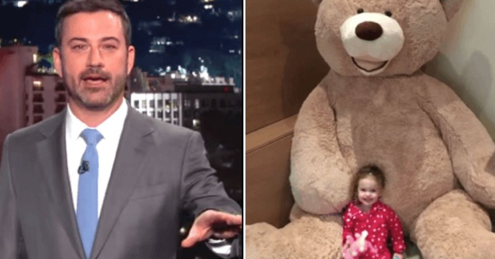 Jimmy Kimmel Gets the BEST Revenge On Brother Who Sent an 8-Foot Bear To His Daughter