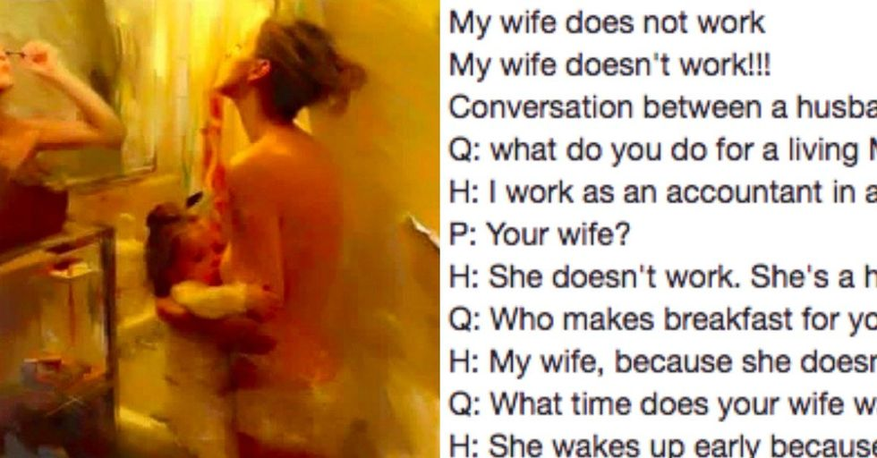 This Honest Post About Stay-at-Home Moms Has Been 'Liked' More Than 600,000 Times