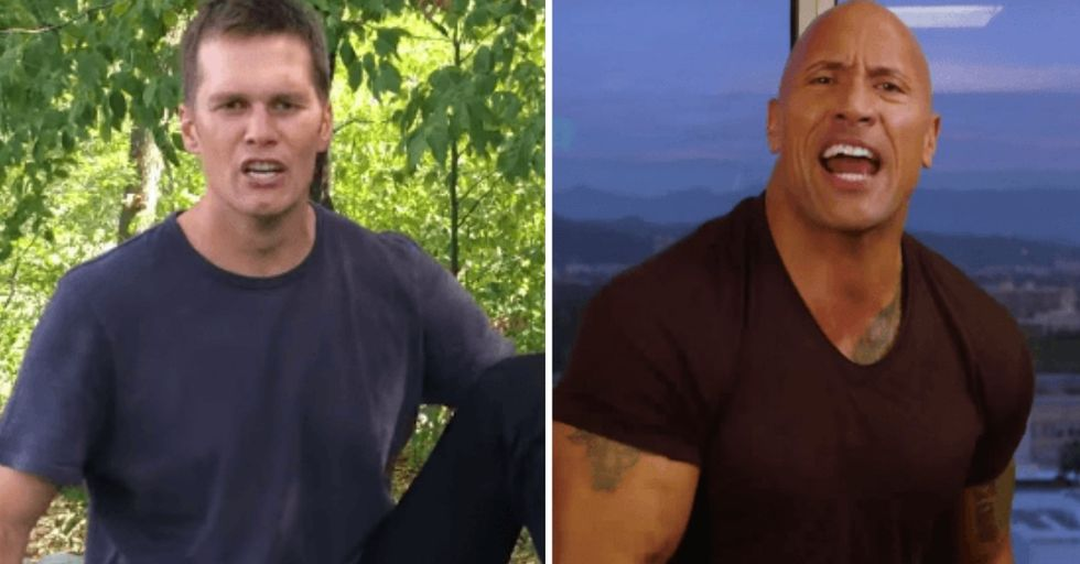Tom Brady Tried Calling Out The Rock and He Roasted Him Into Oblivion