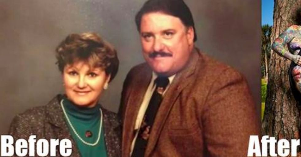This Woman RADICALLY Transformed Herself After Her Husband's Death