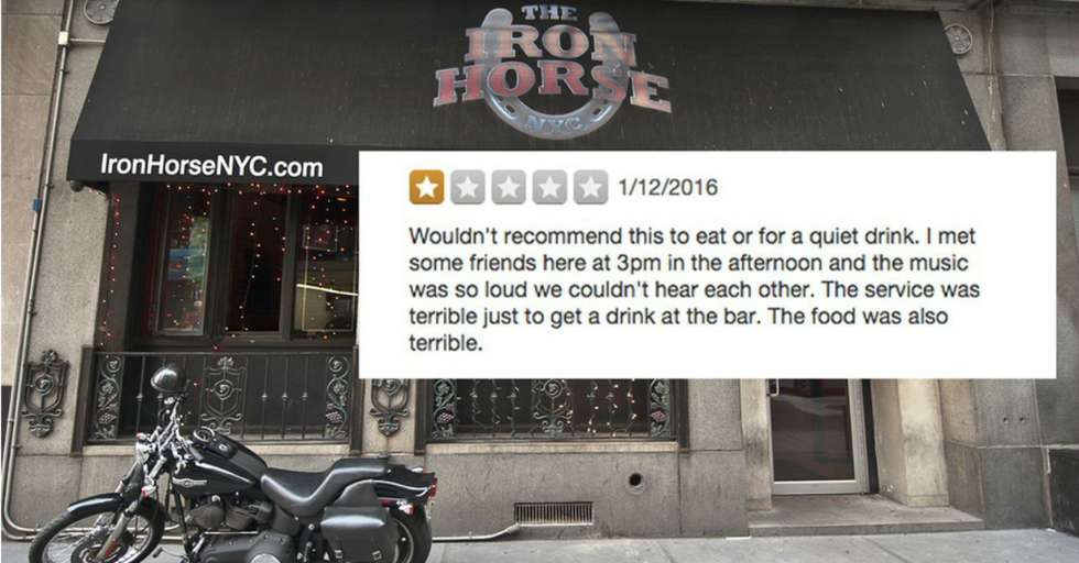 Dive Bar Delivers PERFECT Response To One-Star Review On Yelp