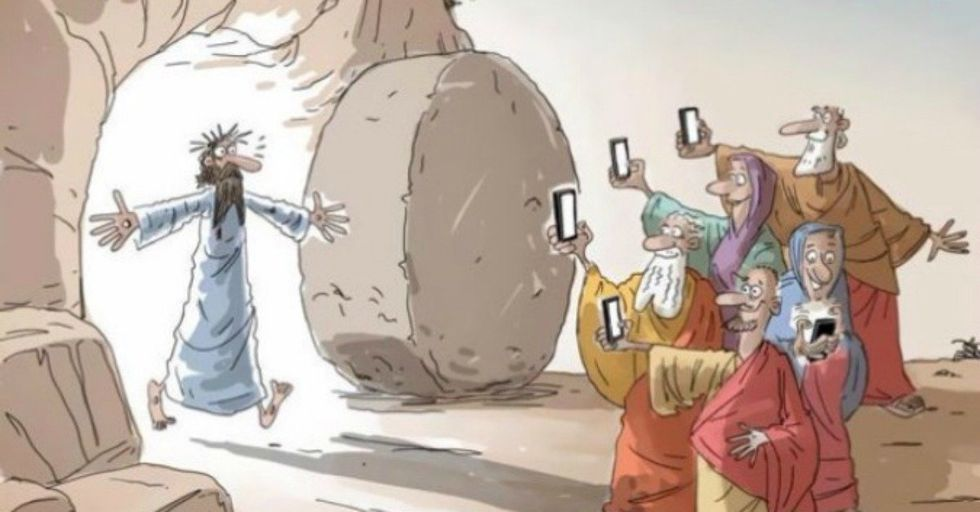40 Hilarious Cartoons That Perfectly Capture Your Smartphone Addiction