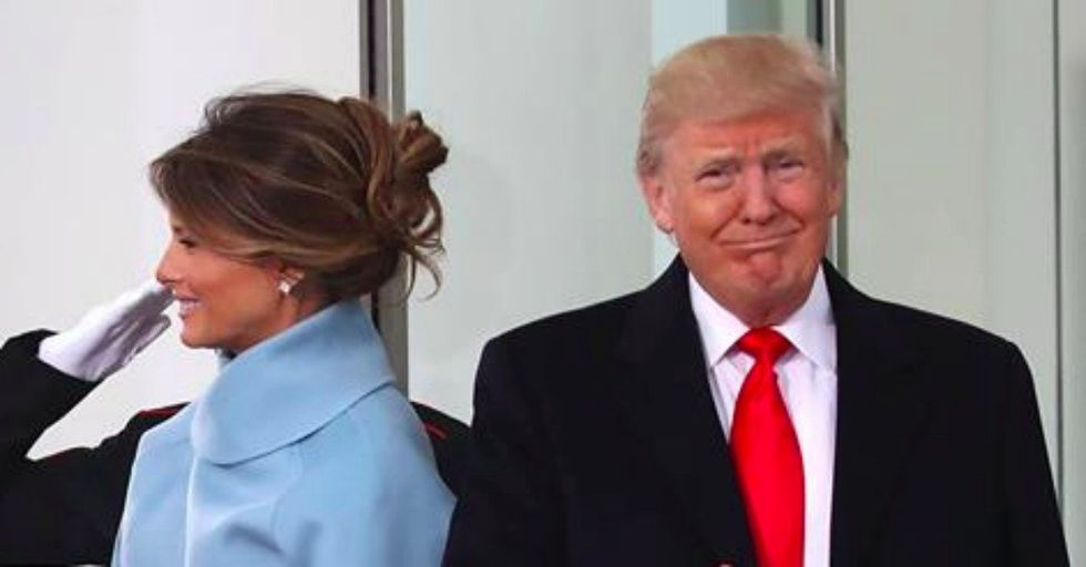 Body Language Experts Break Down Donald and Melania Trump's Odd Inauguration Behavior