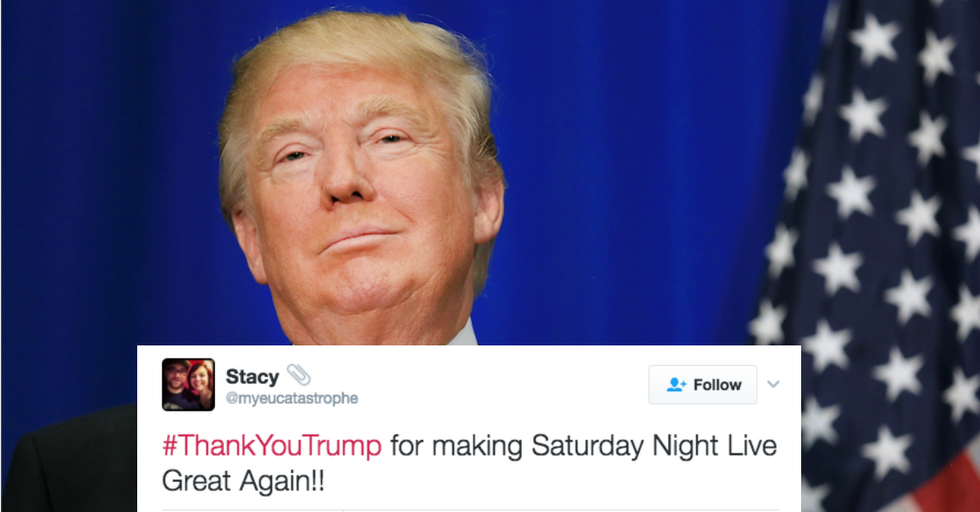 A #ThankYouTrump 'Twitter Rally' Went About as Well as You Would Expect