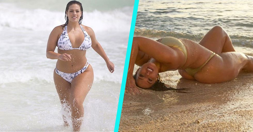 We're Obsessed with Ashley Graham, the Confident, Sizzling Hot Plus Size Model You Haven't Heard of Yet