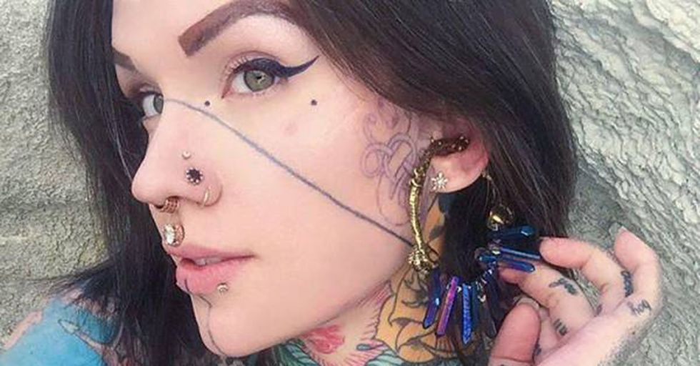 46 Tattoo and Piercing Fanatics Who Will Have Trouble Getting a Desk Job