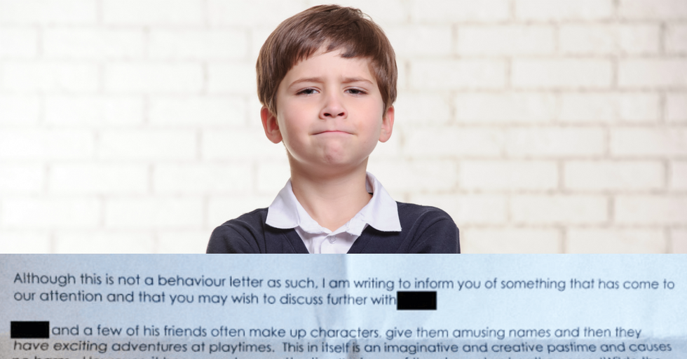 Dad Receives Unintentionally Hilarious Letter About His Son's Behavior