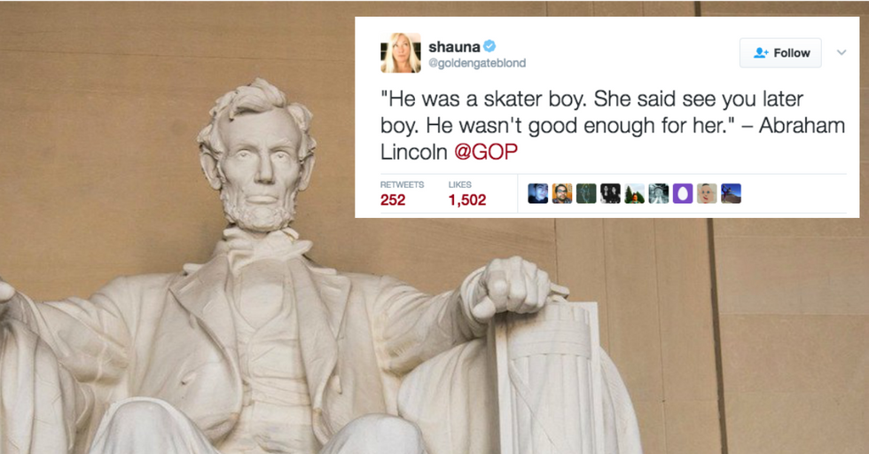 Republicans Tweeted a Fake Abraham Lincoln Quote and Twitter Had a Field Day