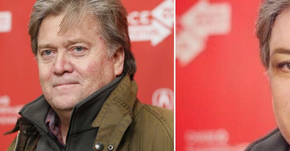 Rosie O'Donnell Gets a Steve Bannon Makeover and Totally Trolls Donald Trump
