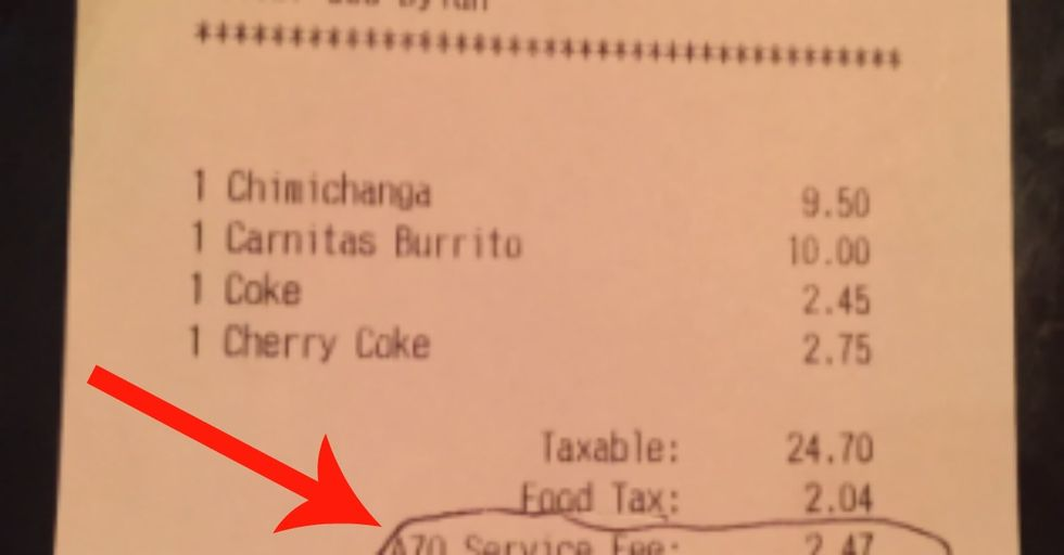 This Restaurant's New Fee Is Causing a LOT of Controversy
