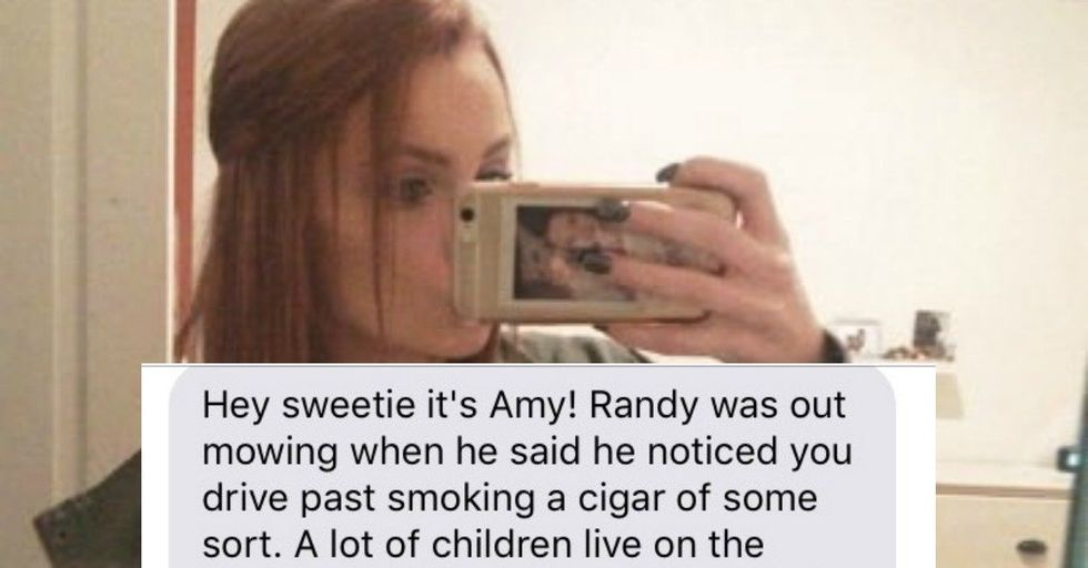 This Mom Thought She Caught Her Teen Babysitter Smoking and Was Hilariously Wrong