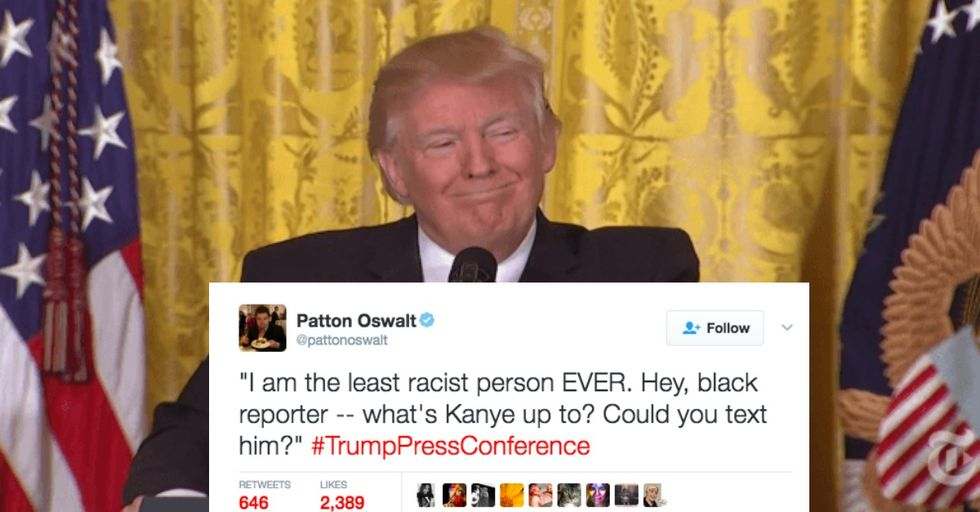 The Best Twitter Reactions To Donald Trump's Crazy Press Conference