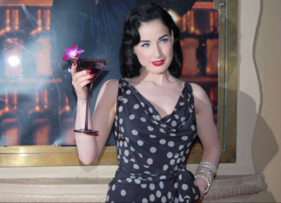 """L.A. Report: Dita Von Teese Debuts the """"Cointreau Teese"""" at Avalon"""