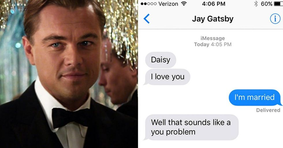 Here's What Would Happen If Literature's Biggest Romantics Could Text