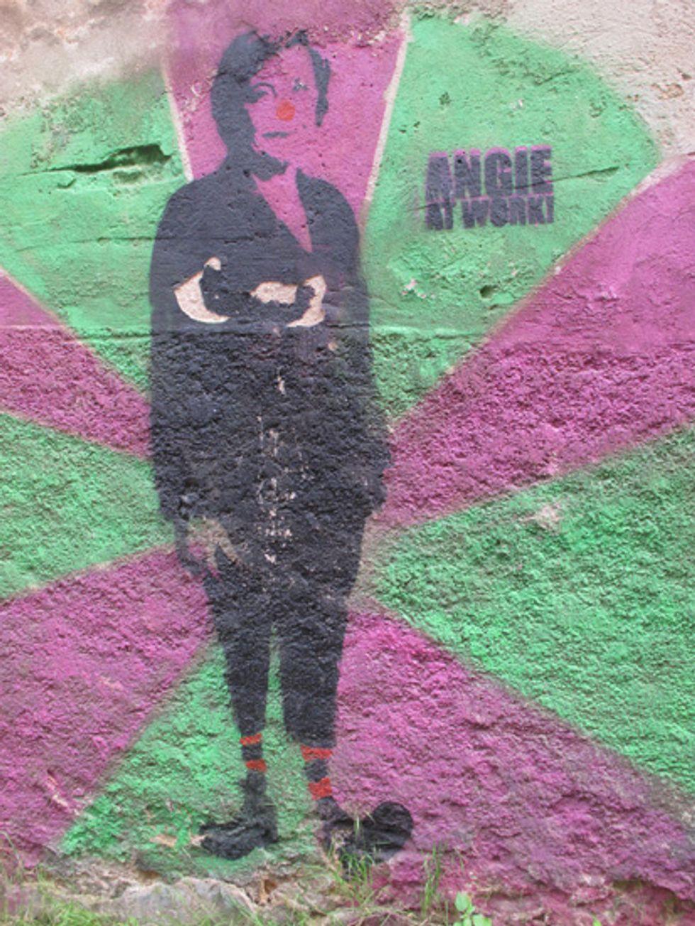 Political Graffiti in Meissen