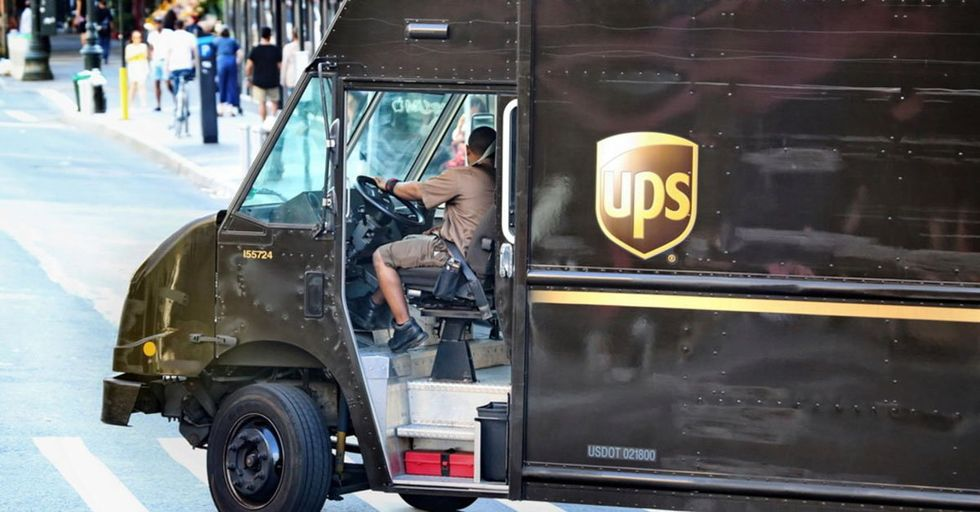 This Is the Reason UPS Trucks NEVER Turn Left (and You Shouldn't Either)