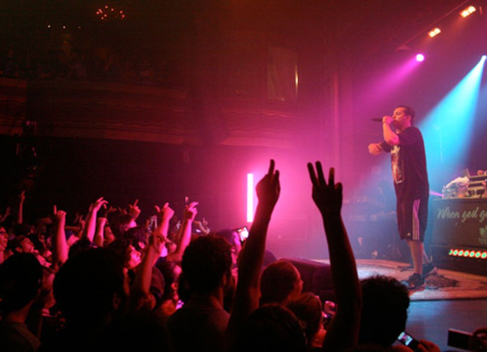 Atmosphere Makes Us Sweat at Webster Hall