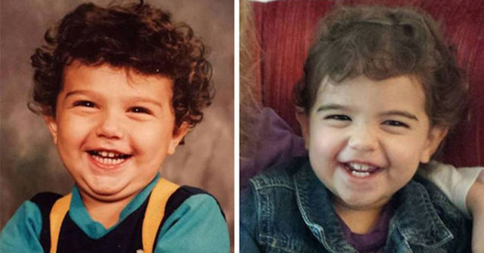 These 22 Parent-Child Pics Are So Identical, You'll Wonder If They Were Photocopied
