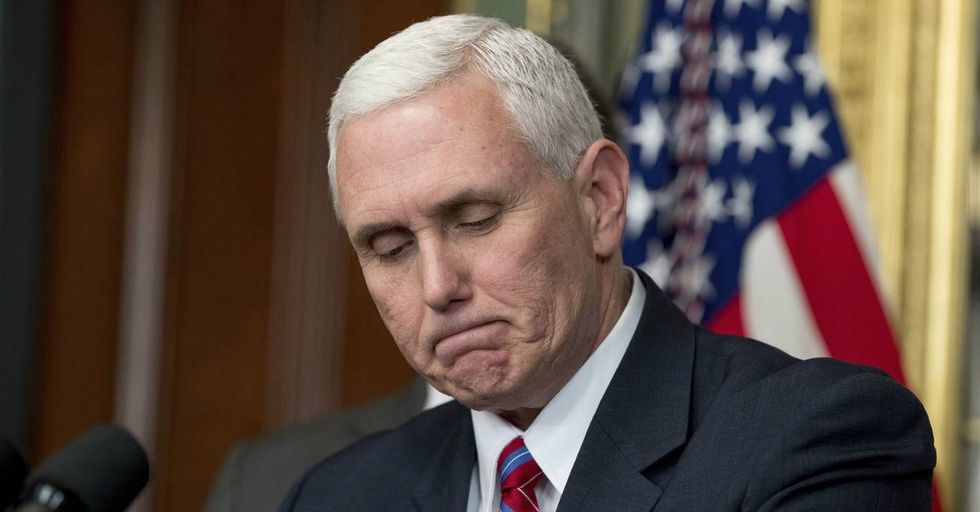 Mike Pence's Tweet Comes Back To Haunt Him After Private Email Revelations