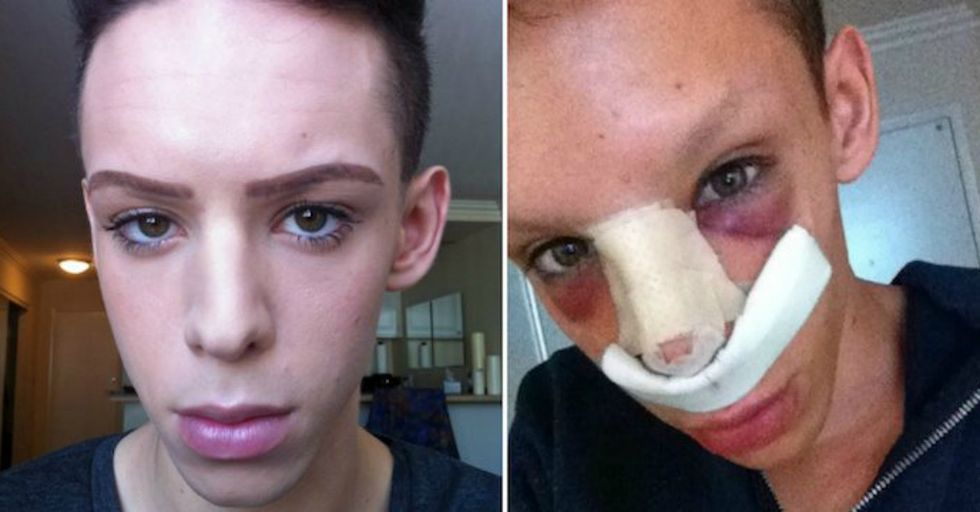 This Man Spent Over $50,000 To Become a 'Genderless Alien Being'